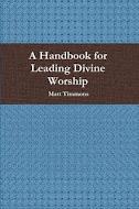 Worship Handbook