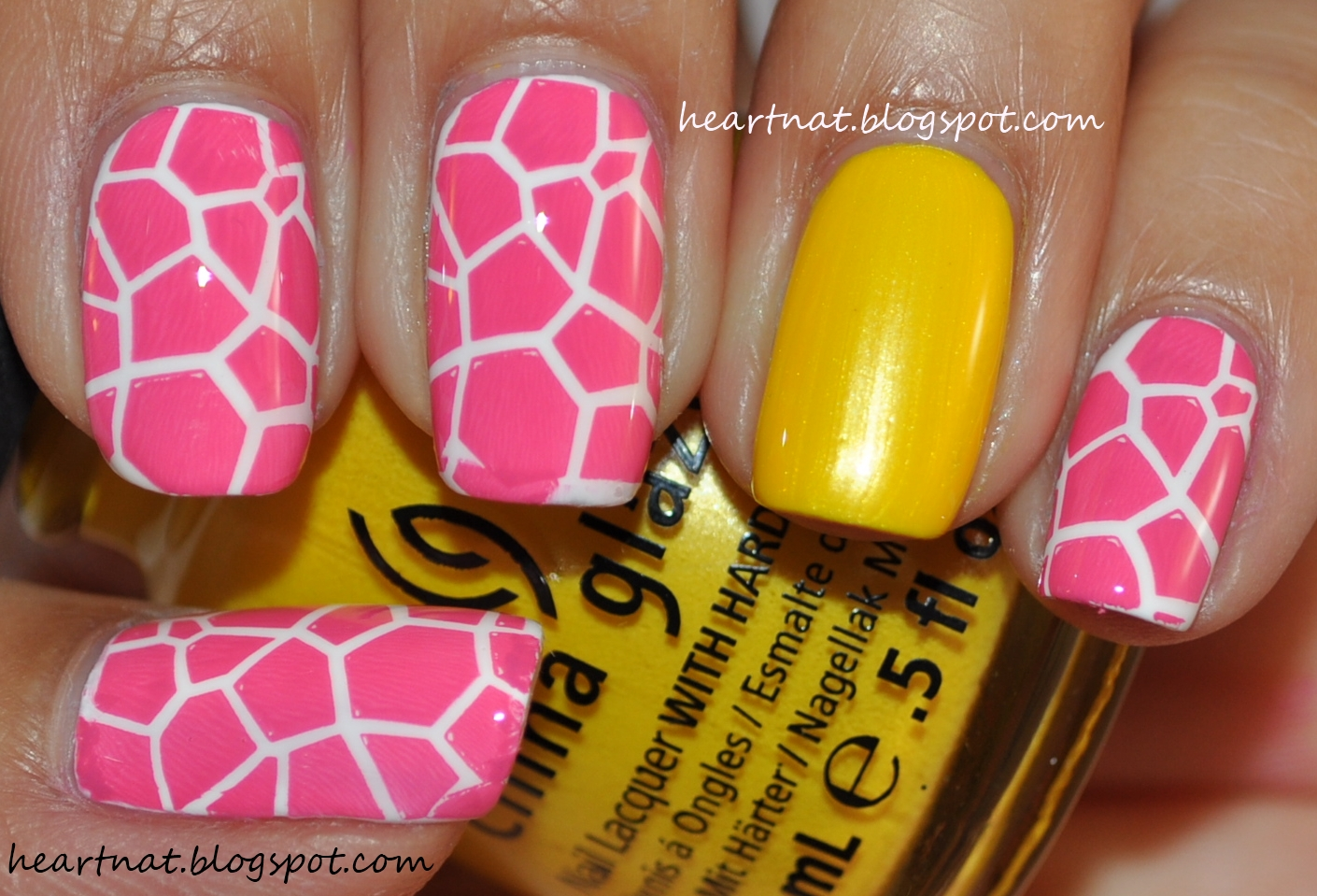 french nail art: Nicki Minaj Inspired Nails #3