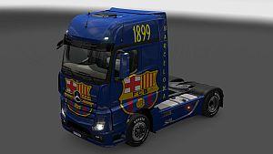 FC Barcelona skin for Mercedes MP4