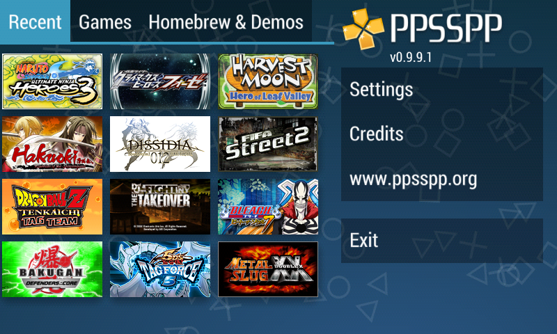 Download PPSSPP Gold - PSP emulator 1.8.0 for android