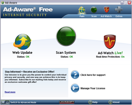 Antivirus Terbaik Ad-Aware
