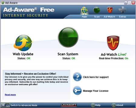 Antivirus Terbaik Ad-Aware