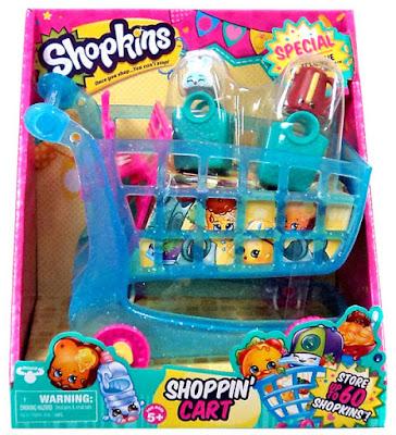 TOYS: JUGUETES - SHOPKINS  Carrito | Carro de la compra | Shoppin' Cart | Serie 3 - Season 3  A partir de 5 años | Comprar en Amazon