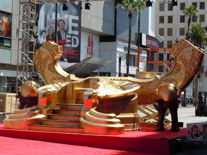 Odin's Throne prop Thor movie