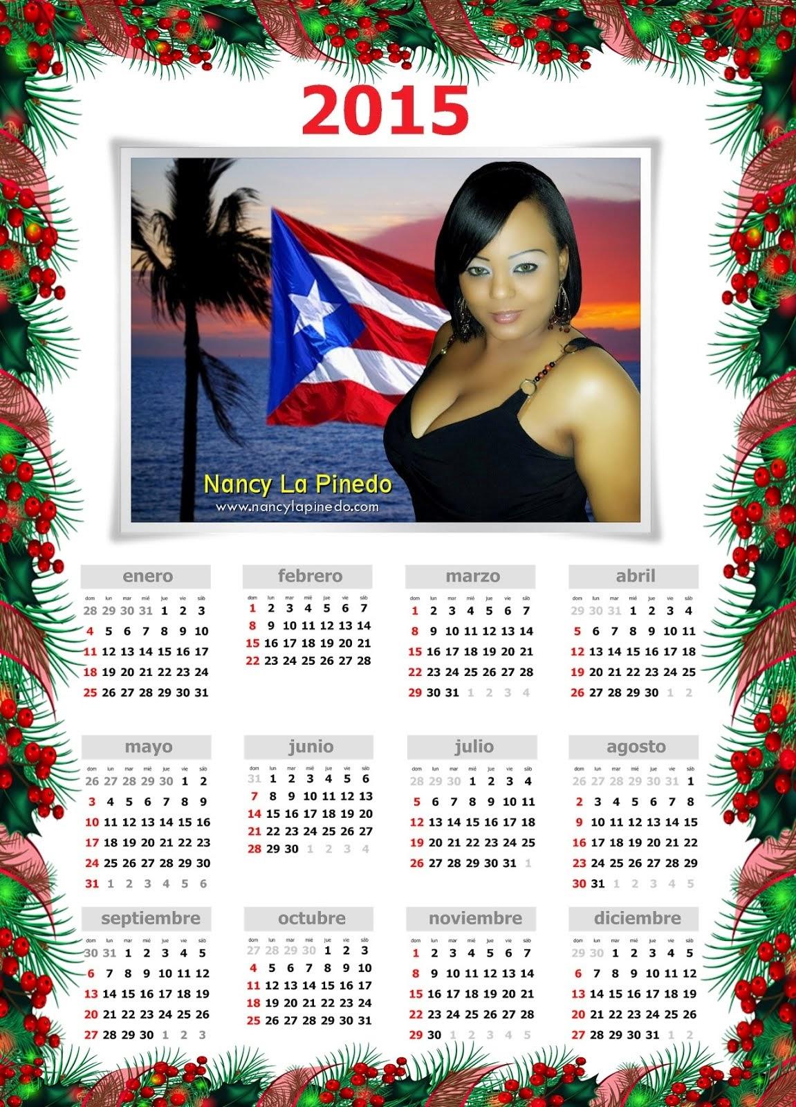 Calendario 2015 de Nancy La Pinedo - ¡Descárgalo Ahora!