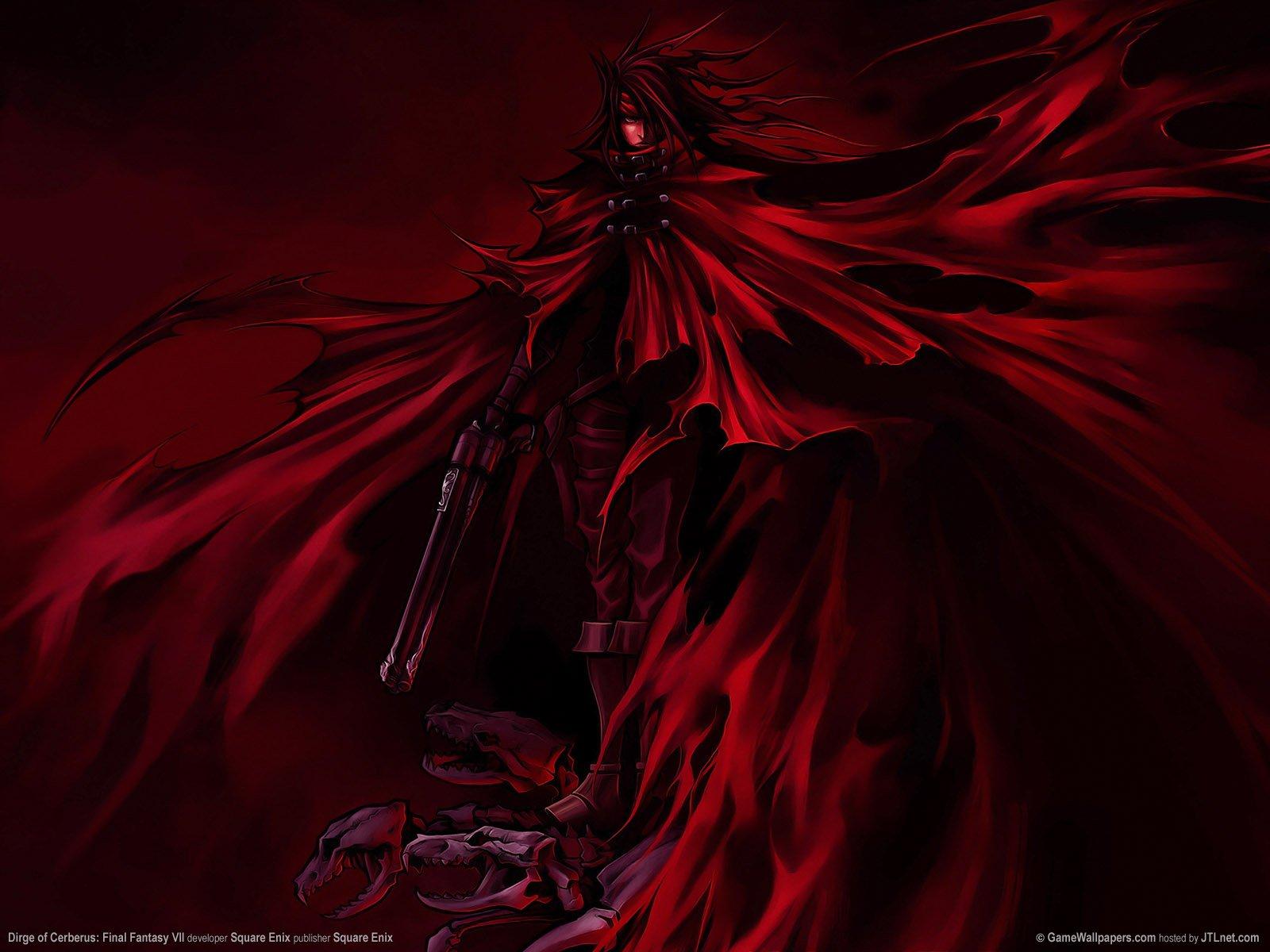 dirge of cerberus final fantasy vii wallpapers - Final Fantasy VII Dirge of Cerberus Official Wallpapers