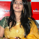 Sneha in Yellow Transparent Saree   Pics