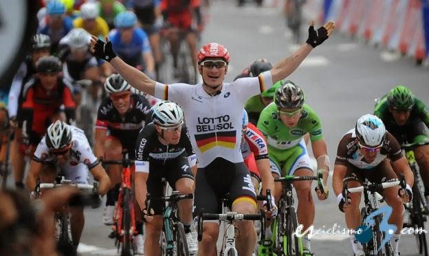 André Greipel gana la sexta etapa al sprint