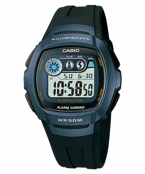 Casio W-210-1B