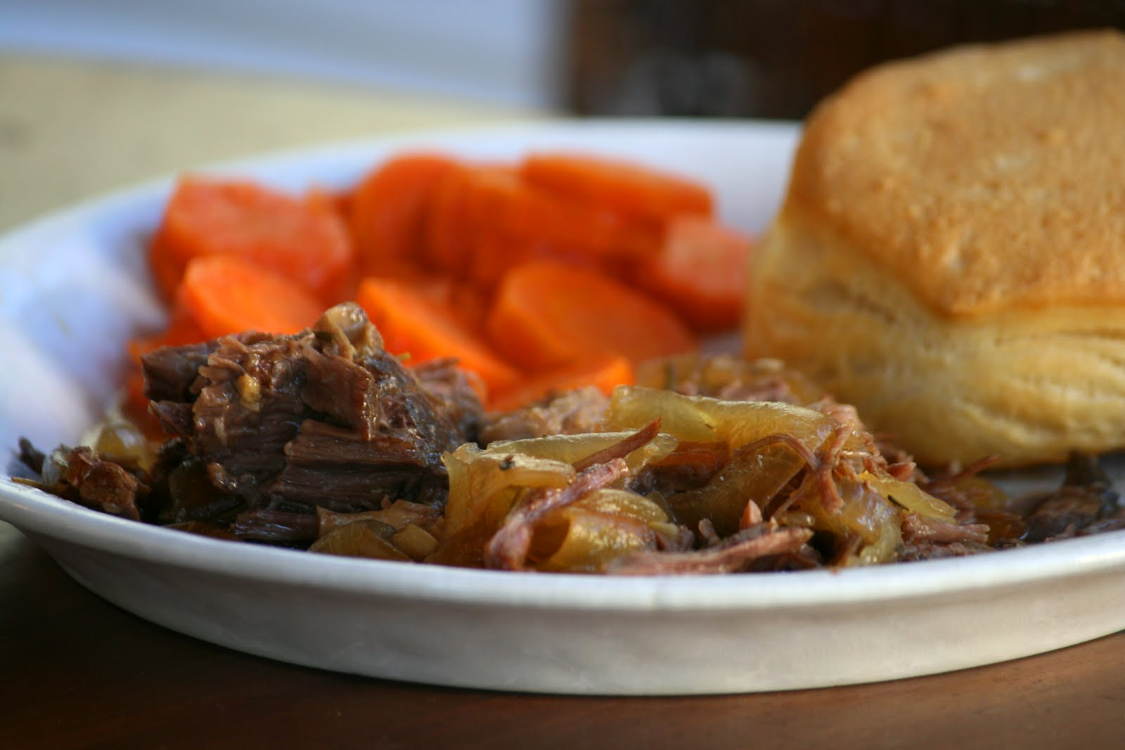 Beer Braised Beef with Onions | Cookies with Boys
