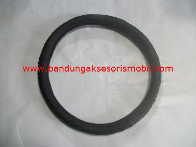Sarung Setir Leather/Kulit Hitam
