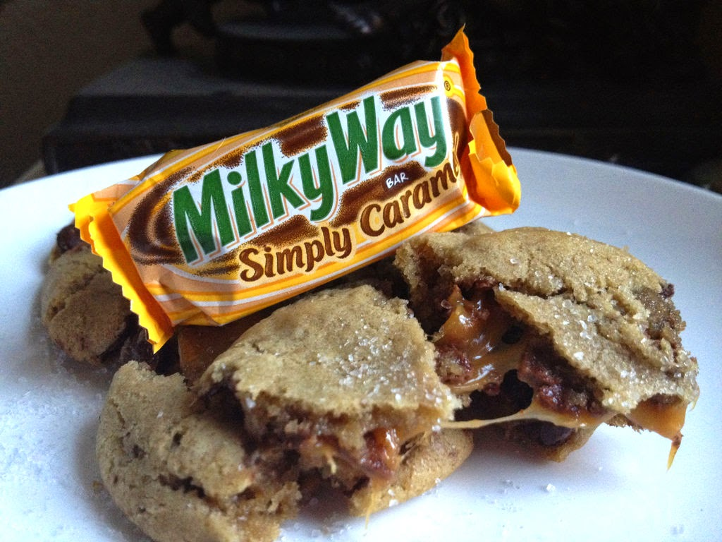 Milky Way Salted Caramel Cookies Recipe