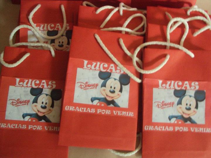 Bolsitas de Mickey Mouse