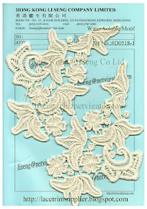 Water Soluble Lace Motif Manufacturer - Hong Kong Li Seng Co Ltd