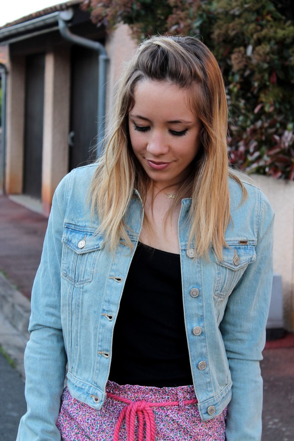 Veste en jean