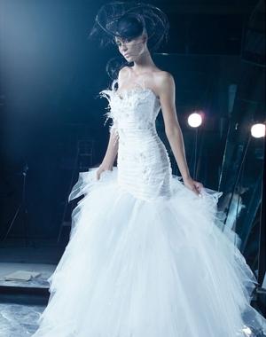 Robe de mariée Max Chaoul | Coiffure Mariage