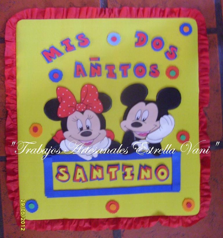 Un Ple Con Mickey Mouse Y Sus Amigos