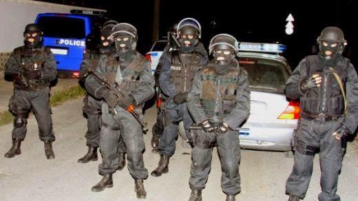Жандармерията направи спец акция в циганката махала на Петрич
