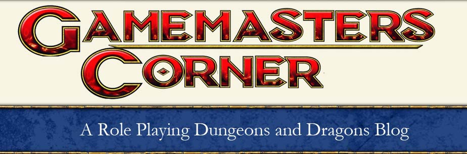 Game Masters Corner