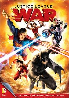 DC Comics Liga de Justicia Guerra DVDRip