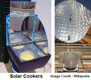 Solar Cooker is totally pollution free . It is cost effective and economical to use as there is no recurring cost. It is quite user friendly and easy to handle. It provides safety against fire related accident and injuries     It provides an ideal cooking environment with no loss food value