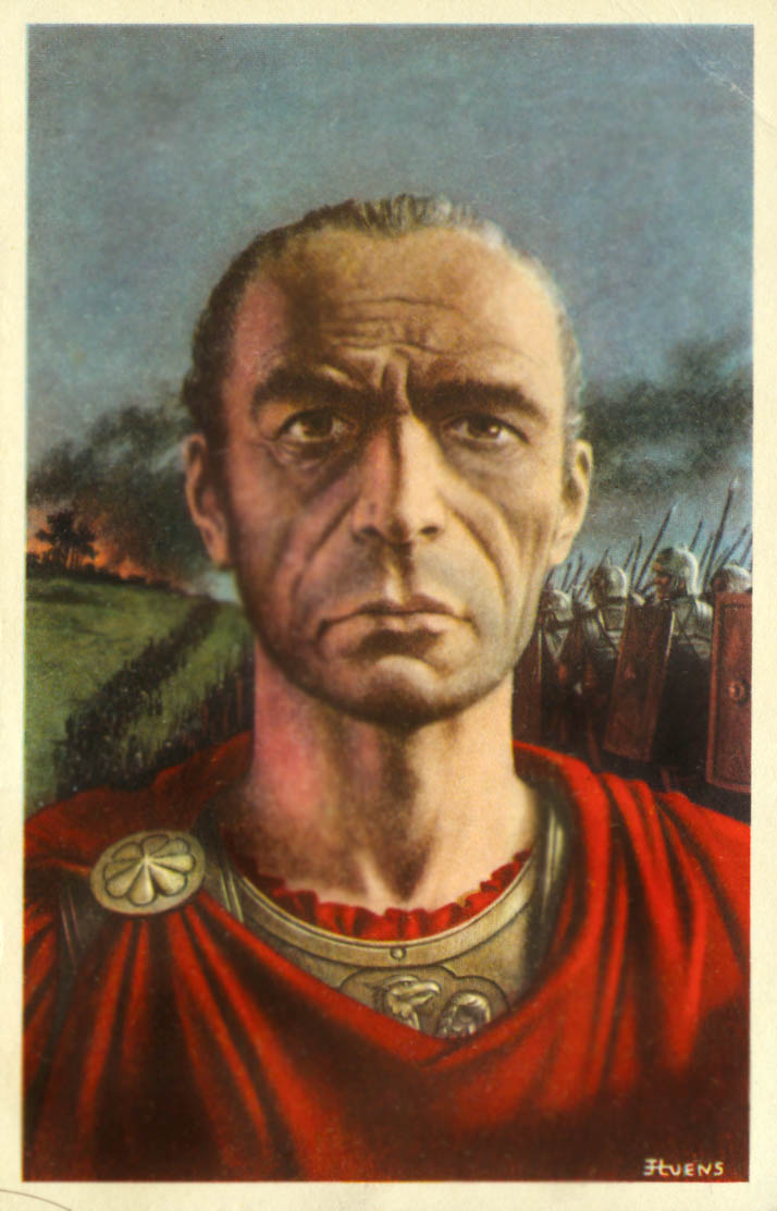 julius of caesar Gaius julius caesar (july 13, 100 bc - march 15, 44 bc) was a roman military and political leader whose conquest of gallia comata extended the roman world all the way to the oceanus atlanticus and introduced roman influence into modern france, an accomplishment whose direct consequences are visible to this day.