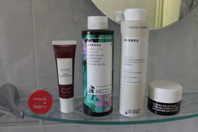 Korres Greek Beauty Brand Review Lip Butters CC Cream Shower Gel Cleanser Face Cream