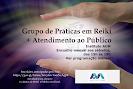 GRUPO DE PRÁTICAS EM REIKI + ATENDIMENTO AO PÚBLICO