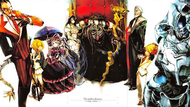Okładka light novel Overlord