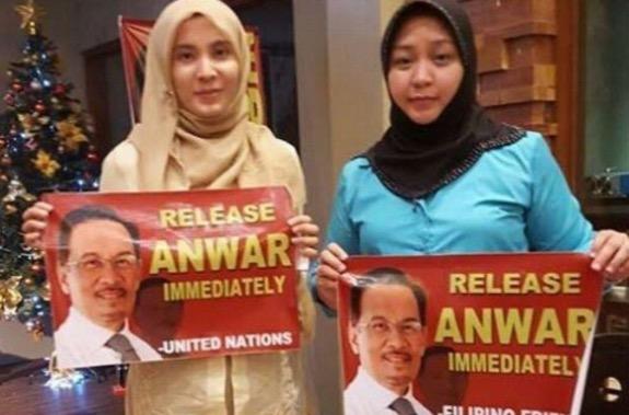 Nurul Izzah Anwar bertemu Jacel H. Kiram, penceroboh Lahad Datu