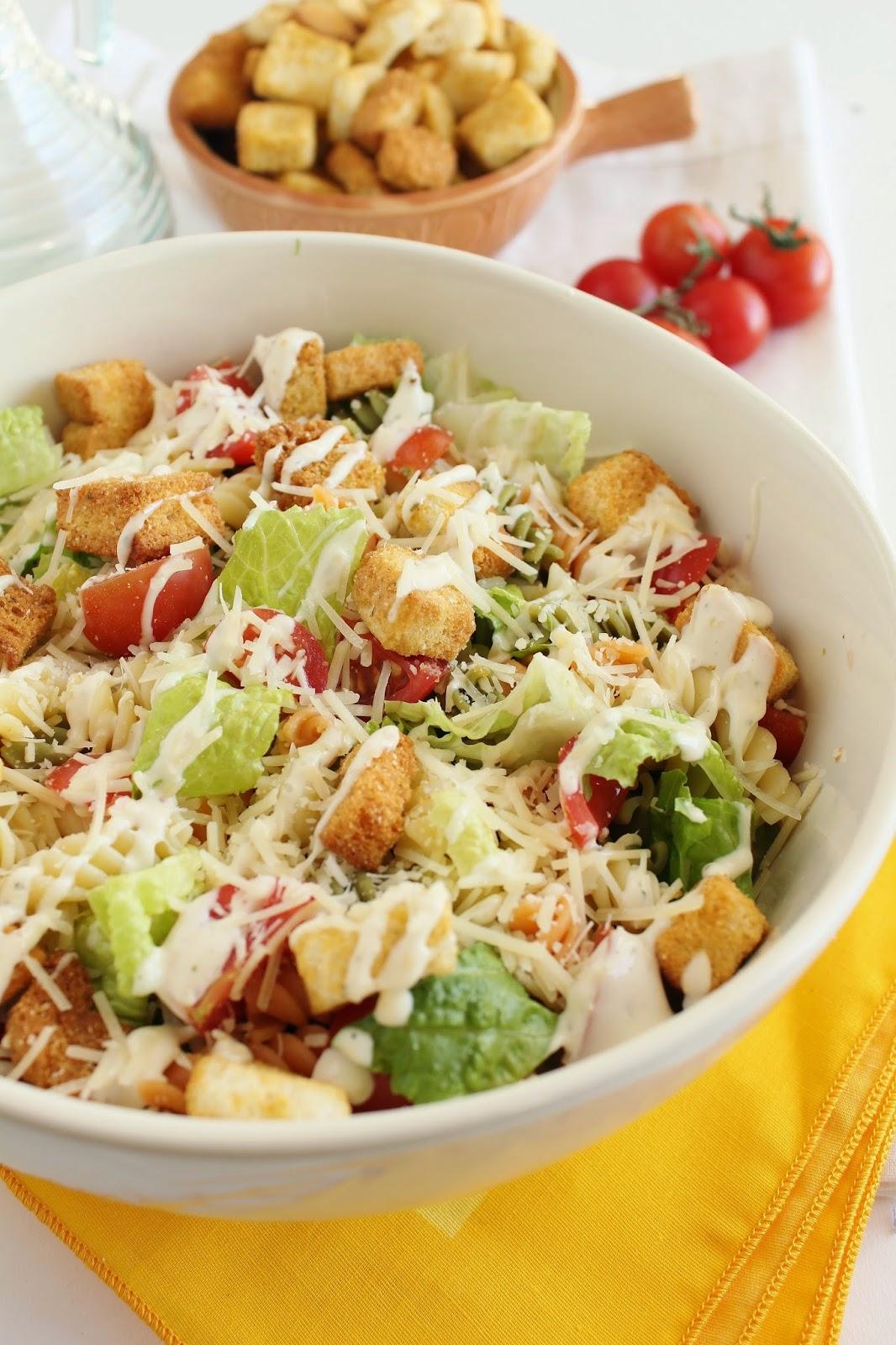 Pasta Caesar Salad