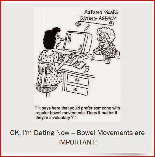 I'm Dating Now Bowel Movements are IMPORTANT cartoon