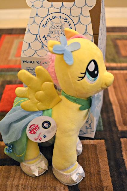 Build-a-Bear FlutterShy Pony