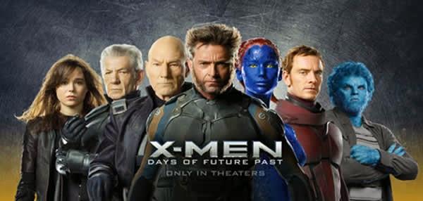 X-Men. Días del Futuro Pasado. Cabecera