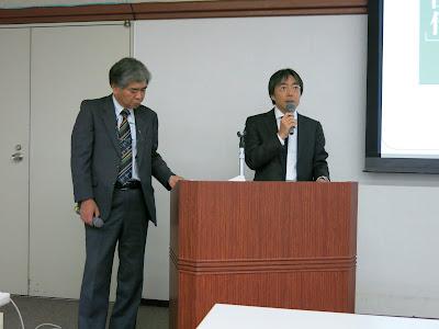 小学館 デジタル事業局 デジタル出版企画室の大家正治氏(右)と中山博邦氏(左)