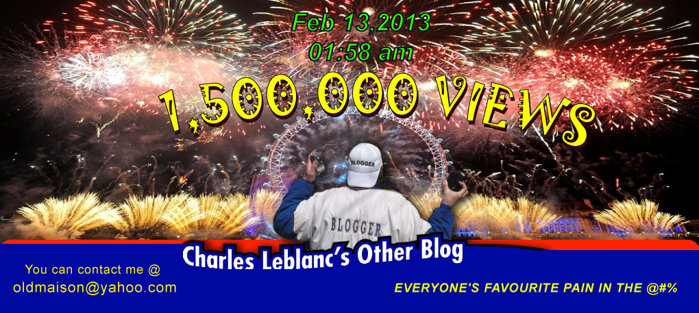 Charles Leblanc&#39;s Other Blog