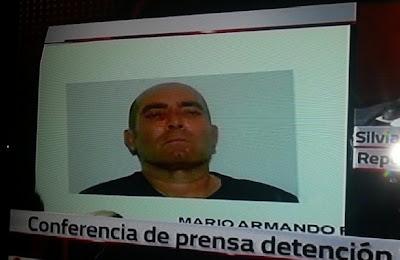 El Pelón X-20 capturado en Reynosa