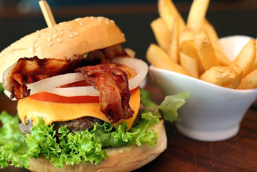 Kitayama Wagyu Burger Malcolm's Deli