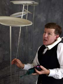 Afbeeldingsresultaat voor jongleur met bordjes