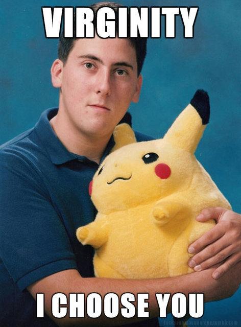 Virginity - I Choose You Pokemon