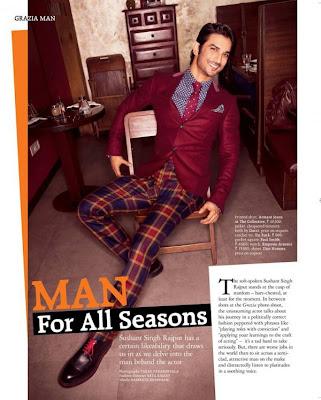 Sushanth Singh Rajput's Photoshoot for Grazia magazine