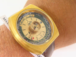 DALIL WORLD TIME COMPASS WATCH - AUTOMATIC AS 2063