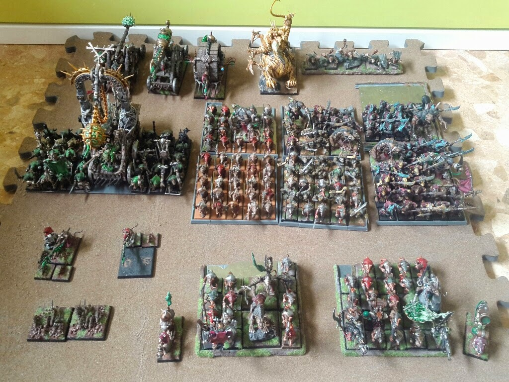 Skaven army paint