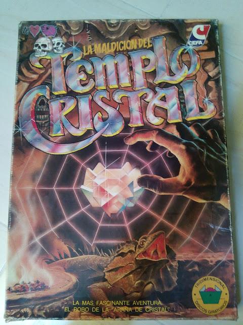 La Maldición del Templo Cristal