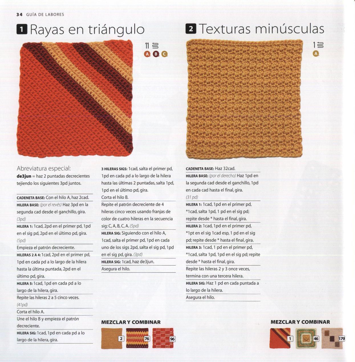 SusiMiu | Manta Crochet popurri de muestras