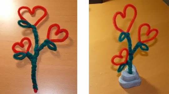 Bricolage de cadeau pour amie po me pour amie texte - Idee activite saint valentin ...