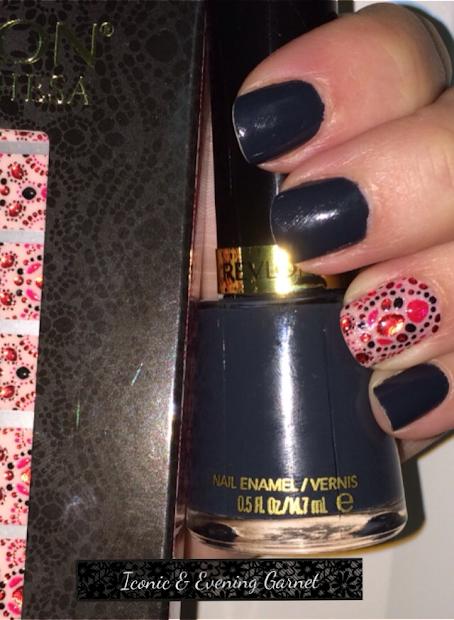 shades of nail polish mani