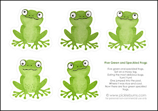 Smarttartslearning jumpin 39 for joy about my froggy bundle for Frog finger puppet template