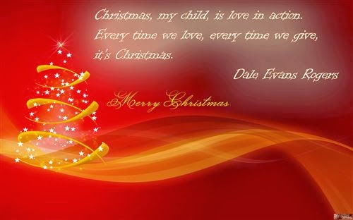 Beautiful Merry Christmas Cards Sayings With Love