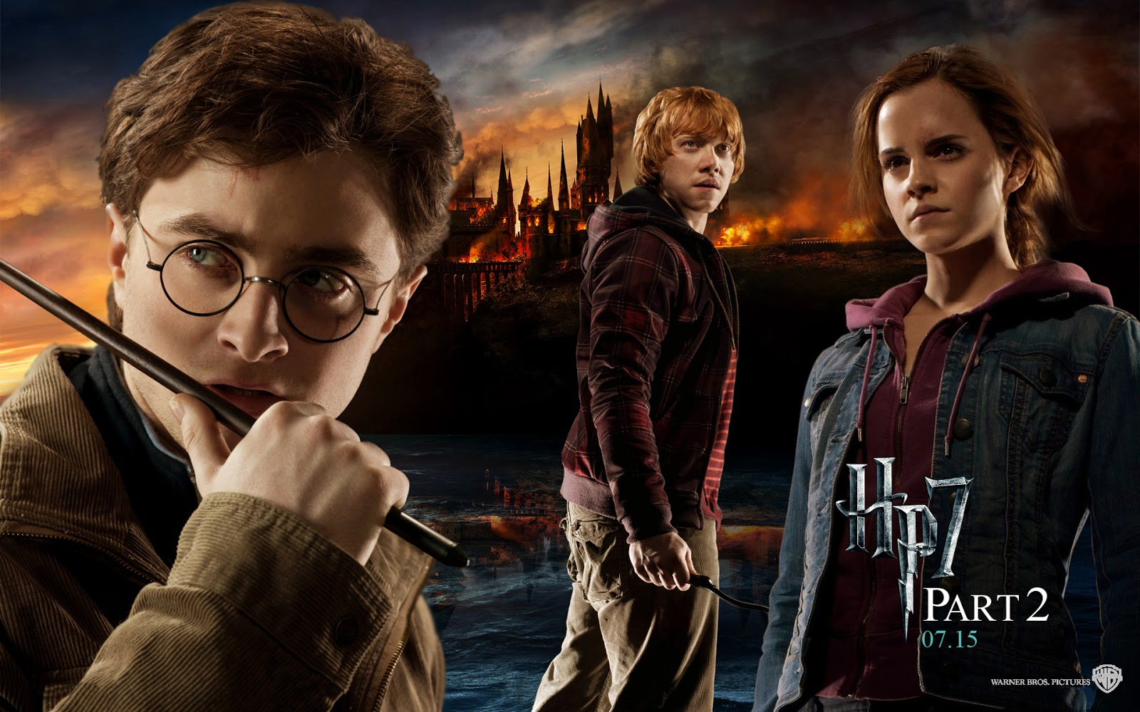 Harry Potter Deathly Hallows Widescreen wallpaper